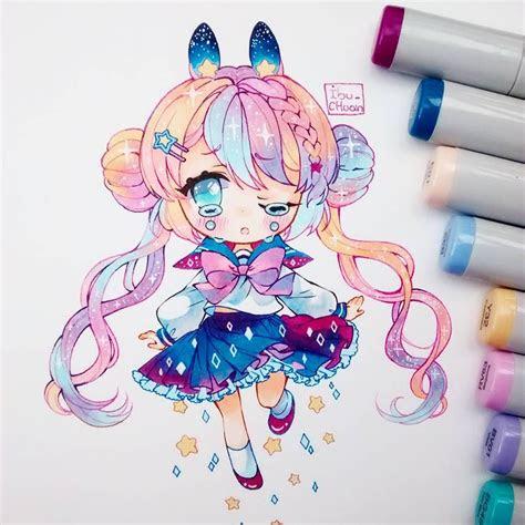 sailor moon chibi anime fan art pinterest chibi