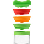 Oxo Good Grips 3 Blade Hand Held Spiralizer- Makes 3 Different Noodles - 11194200