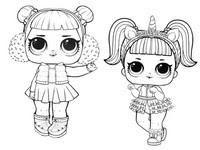 Disegni Da Colorare Lol Surprise Doll Morning Kids