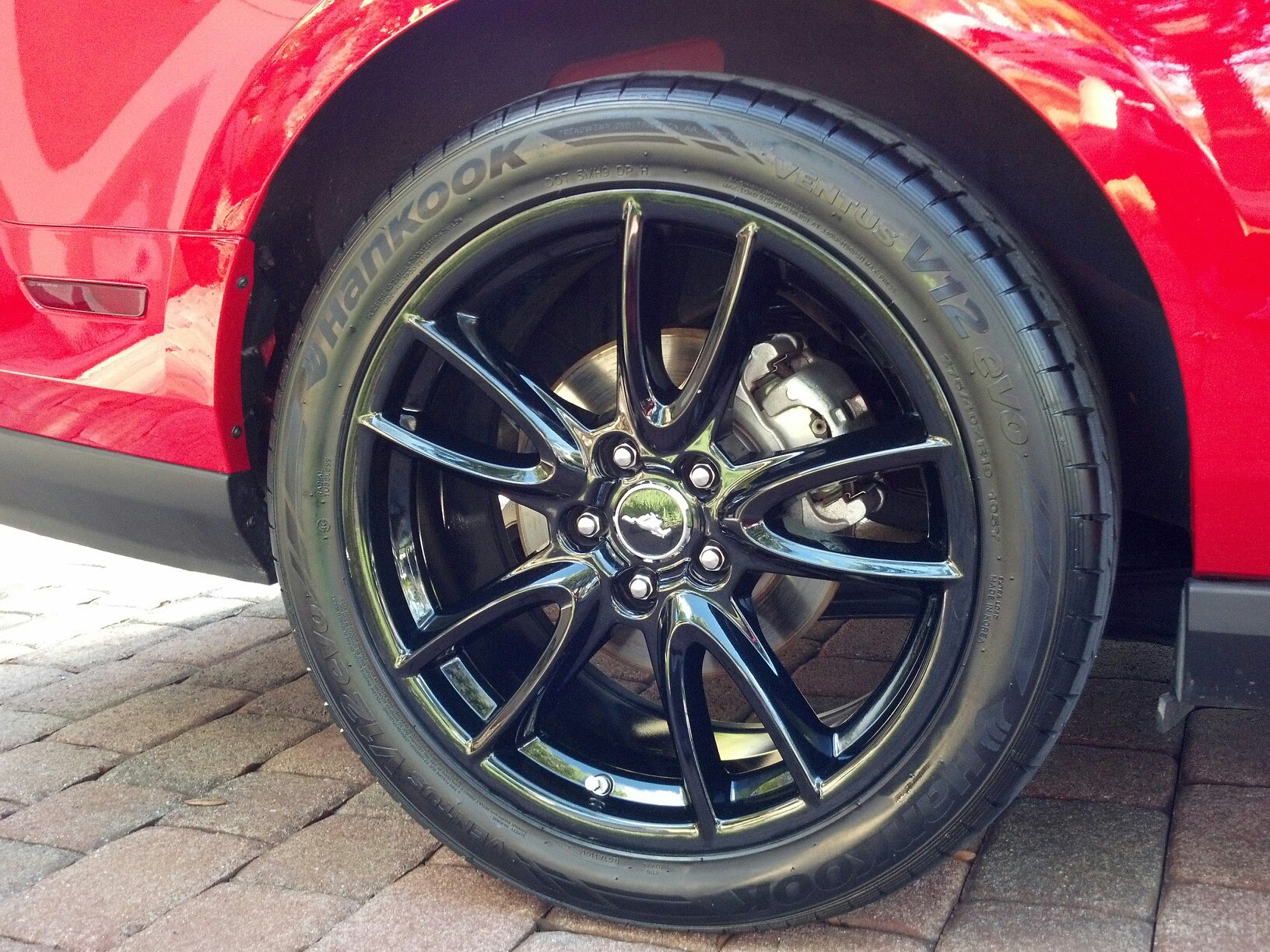 Wheel Tire Combination  35r19 Anyone Ford Mustang Forum