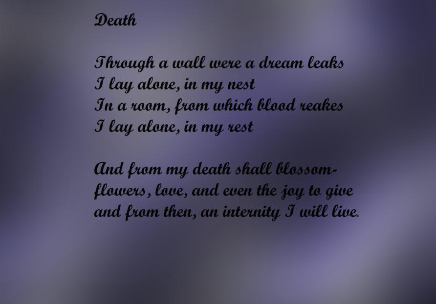 25 Sad Poems About Death Death Poems