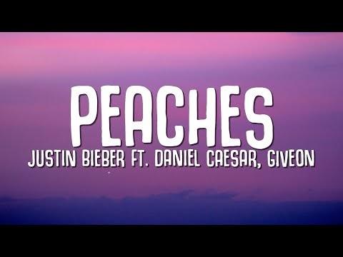 Peaches lyrics by Justin Bieber
