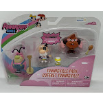 Powerpuff Girls Townsville Pack - Fuzzy Lumpkins, The Mayor & Manboy Toy Figures