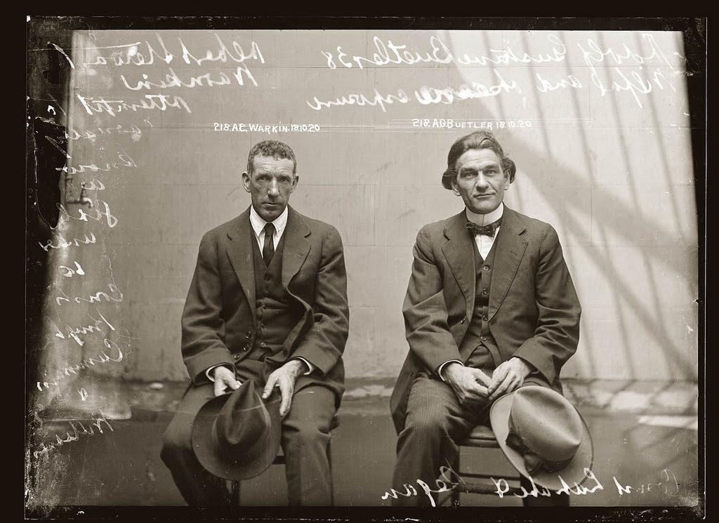 photo police sydney australie mugshot 1920 13 Portraits de criminels australiens dans les années 1920  photo photographie histoire featured art