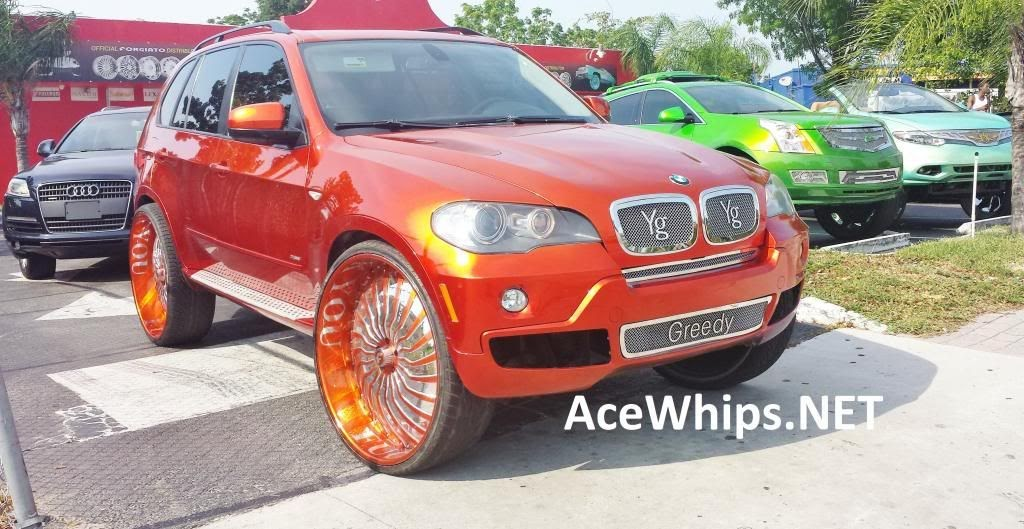 Ace 1 Greedy S Candy Tangerine Bmw X5 On 30 Quot Forgiatos
