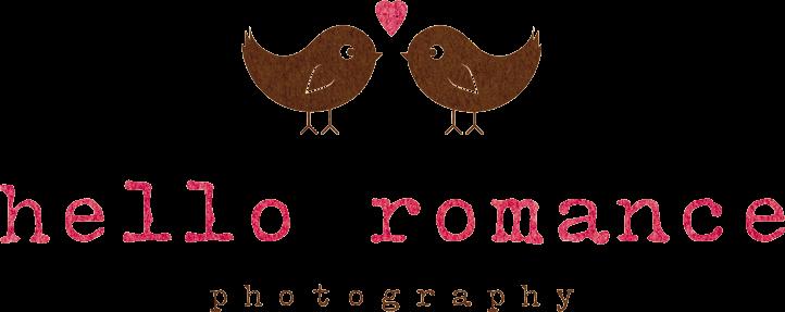 Hello Romance Photography Logo