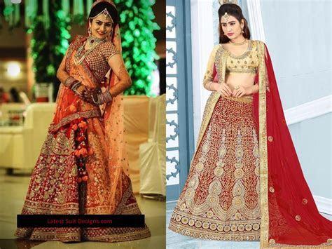 Latest Bridal Wedding Lehenga Designs 2018 Trend (13)