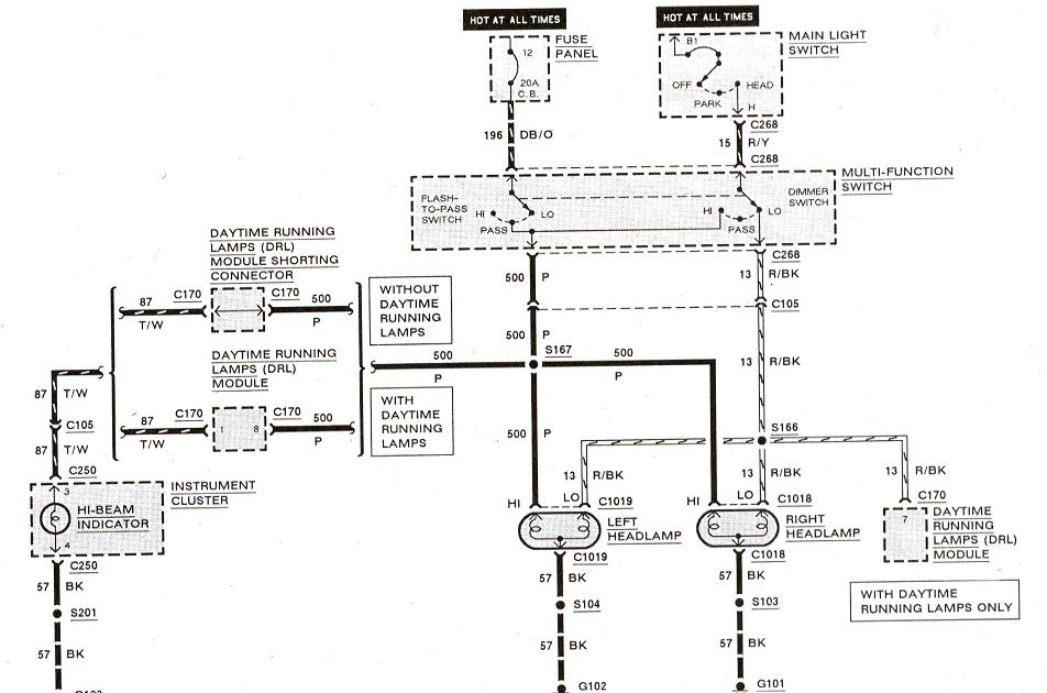 1990 Ford Bronco 2 Wiring Diagram