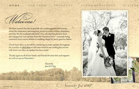 Wedding Website Examples: Creating Memories for Keeps