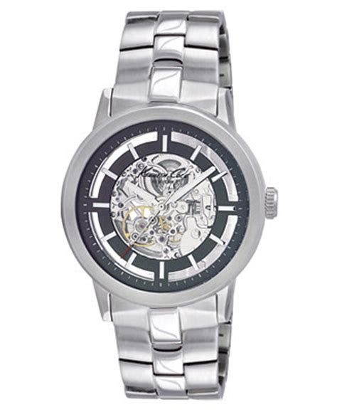 Kenneth Cole Watch, Men's Automatic Skeleton Stainless