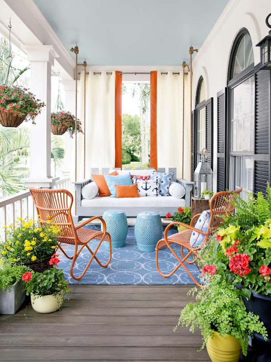 Charming Front Porch Designs - Home Decor Designs
