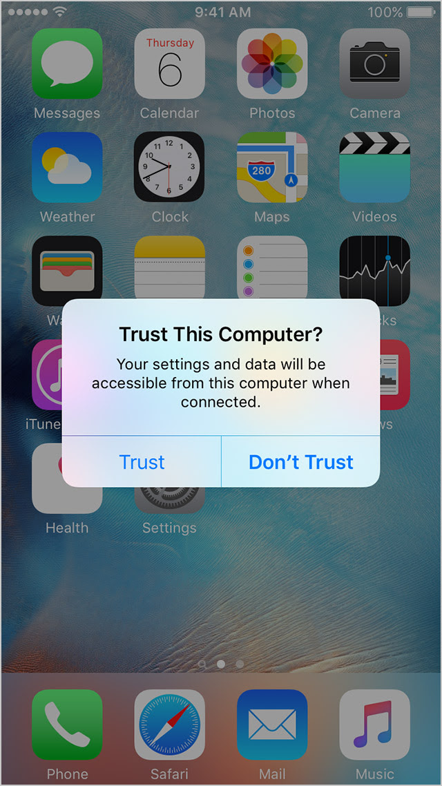 """What the """"Trust This Computer"""" alert on your iPhone means"""