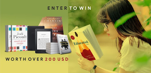 Win Bookish Prizes worth over 200$