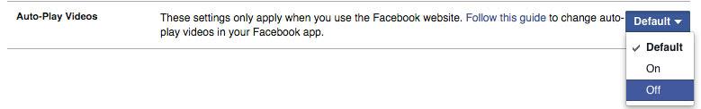 تعلم طريقة إلغاء التشغيل التلقائي لفيديو الفيسبوك وحافظ على باقتك ورصيدك