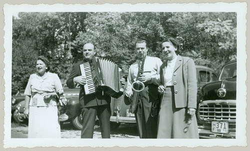 Accordion and Tenor Sax