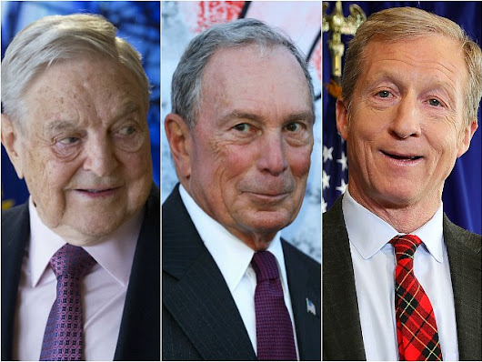 Kevin McCarthy: Soros, Bloomberg, Steyer 'Trying to Buy our Government'