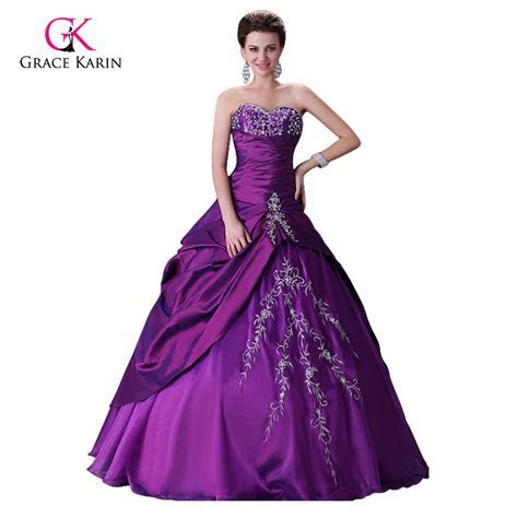 Aliexpress.com : Buy Modest Purple Wedding Dresses 2017
