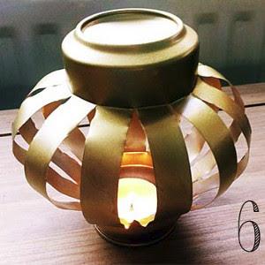 Thrifty Tin Can Lantern