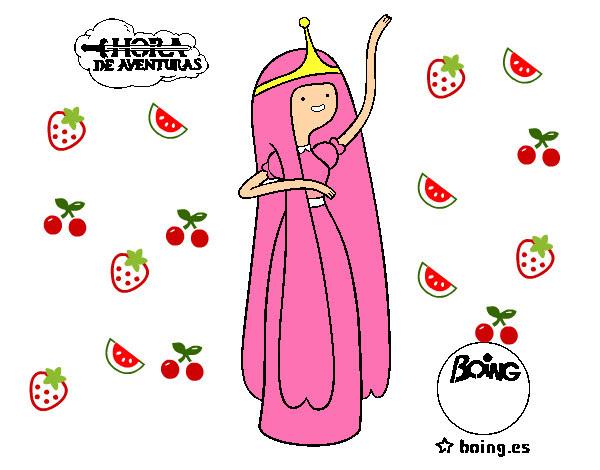 Dibujo De Dulce Princesa Pintado Por Ximena01 En Dibujosnet El Día