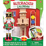 Masterpieces Nutcracker Calendar Wood Paint Kit