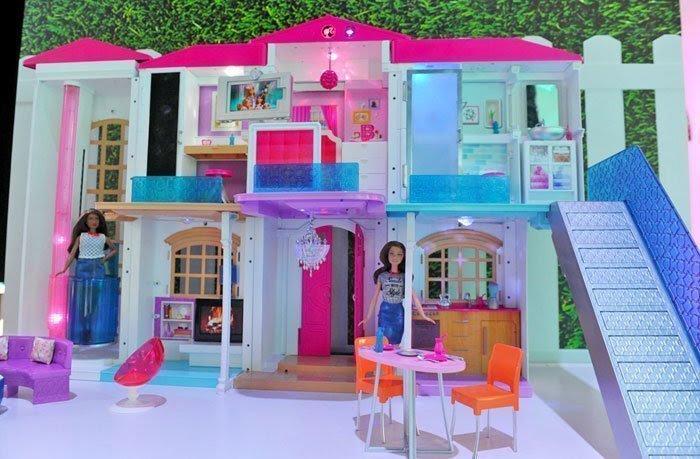 Mainan Anak Boneka Barbie Setelan Bayi Rumah Mainan Boneka Barbie Kayu ... f311f33b62