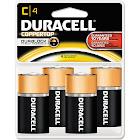 Duracell Coppertop C Alkaline Batteries – 4 Pack