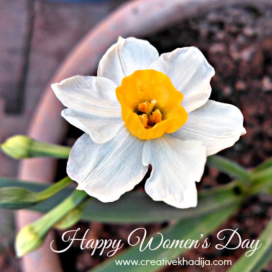 Happy International Women's Day To All My Beautiful Ladies