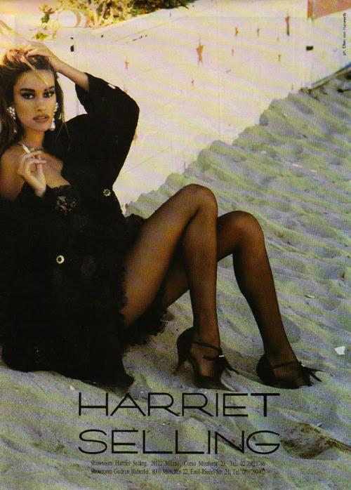 Harriet Selling, 1992Model: Susan Holmes