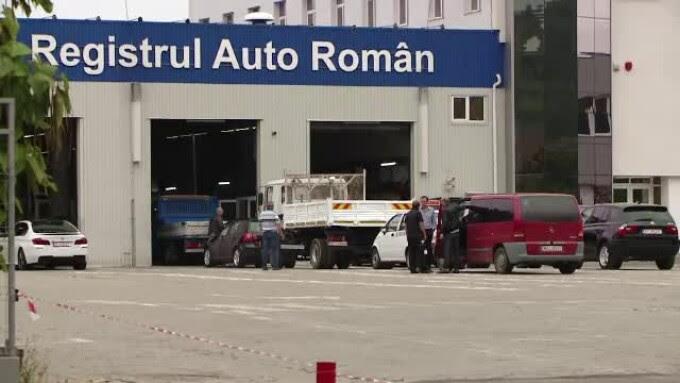 registrul auto roman