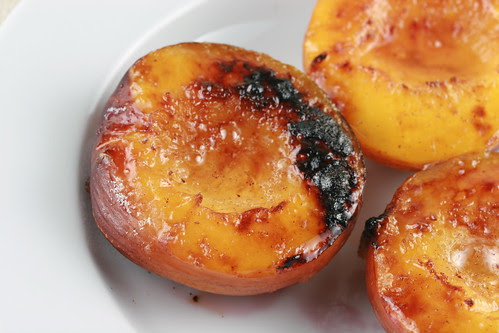 Broiled Nectarine Halves
