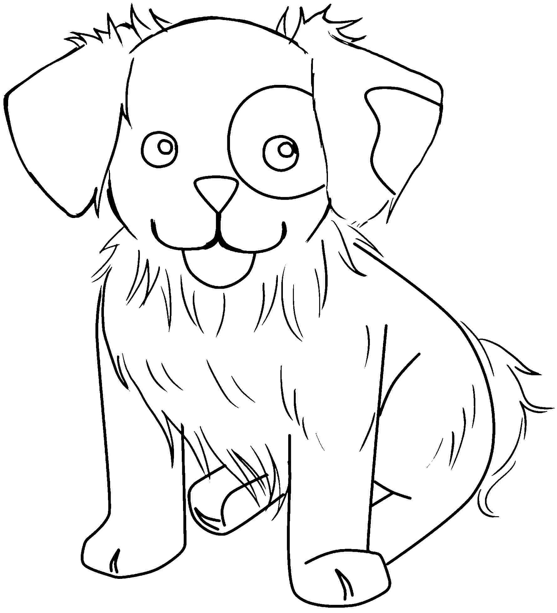 Free Printable Cute Animal Coloring Pages - Coloring Home