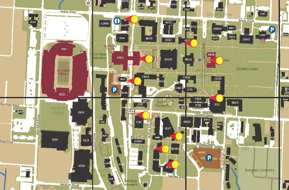 Uark Map - CYNDIIMENNA University Of Arkansas Campus Map on university of miami ohio campus map, arkansas razorback parking map, university of southern miss campus map, university of houston victoria campus map, hebrew university campus map, uca campus map, the university of alabama campus map, new jersey institute of technology campus map, clinton community college campus map, uaf campus map, georgia college & state university campus map, university of louisiana at monroe campus map, uf campus map, western state colorado university campus map, university of columbia campus map, tennessee technological university campus map, university of wisconsin-madison campus map, stephen f. austin state university campus map, university of michigan medical campus map, uams campus map,