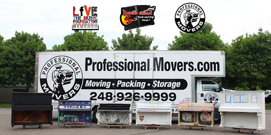 Professional Movers.com Supports Royal Oak Piano Project