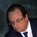 President François Hollande, left, at the Hall of Remembrance at the Yad Vashem Holocaust museum in Jerusalem on Sunday.