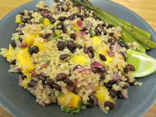 Tropical Quinoa and Black Beans