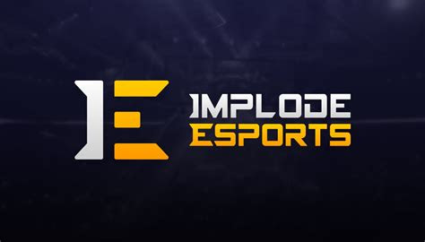 implode esports logo design dasedesigns