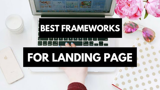 The best #Free #Frameworks to start your own #landingpage on #wordpress | Landing Page Design | Pinterest