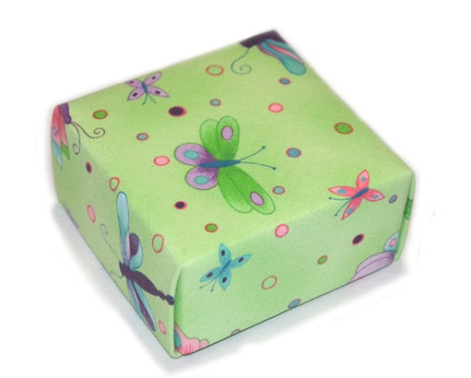 Lime Sorbet Butterfly Treasure Box Perfect for a by BucktownStudio