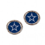 WinCraft 3208510368 Dallas Cowboys Post Style Earrings