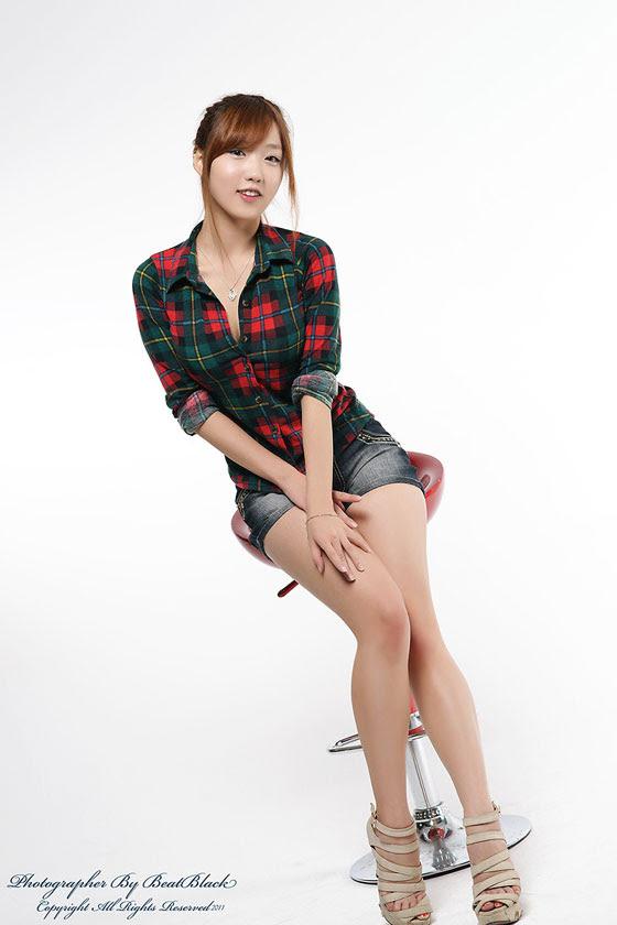 Vì vậy, quần short denim Yeon