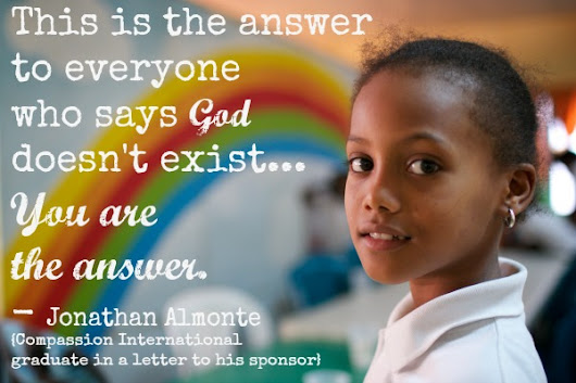 The Answer to People Who Say God Doesn't Exist... - Holley Gerth