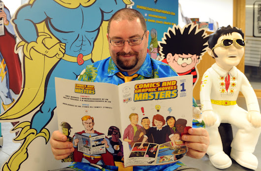 Jings, crivens, help ma boab! Dundee academic Chris is the world's first professor of comics - The Courier