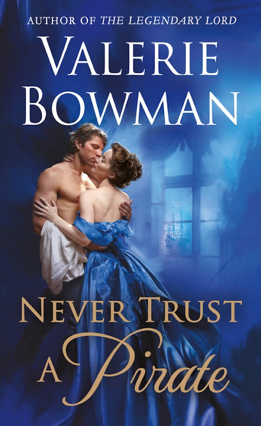 Giveaway ☆ Never Trust a Pirate by Valerie Bowman