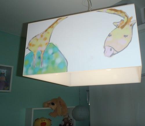 Ludica iluminacion lamparas de acrilico de techo colgantes - Iluminacion para bebes ...