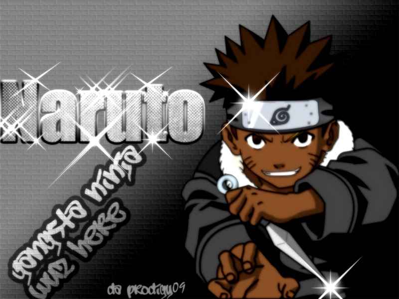 woukd naruto still be popular if he was black
