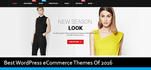 43 Best WordPress eCommerce Themes Of 2016 - Modern WP Themes