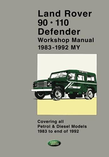 ehl free download land rover 90 110 defender workshop manual