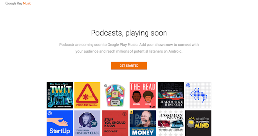 Google Play Music Podcasts Are Apparently Coming On April 18th
