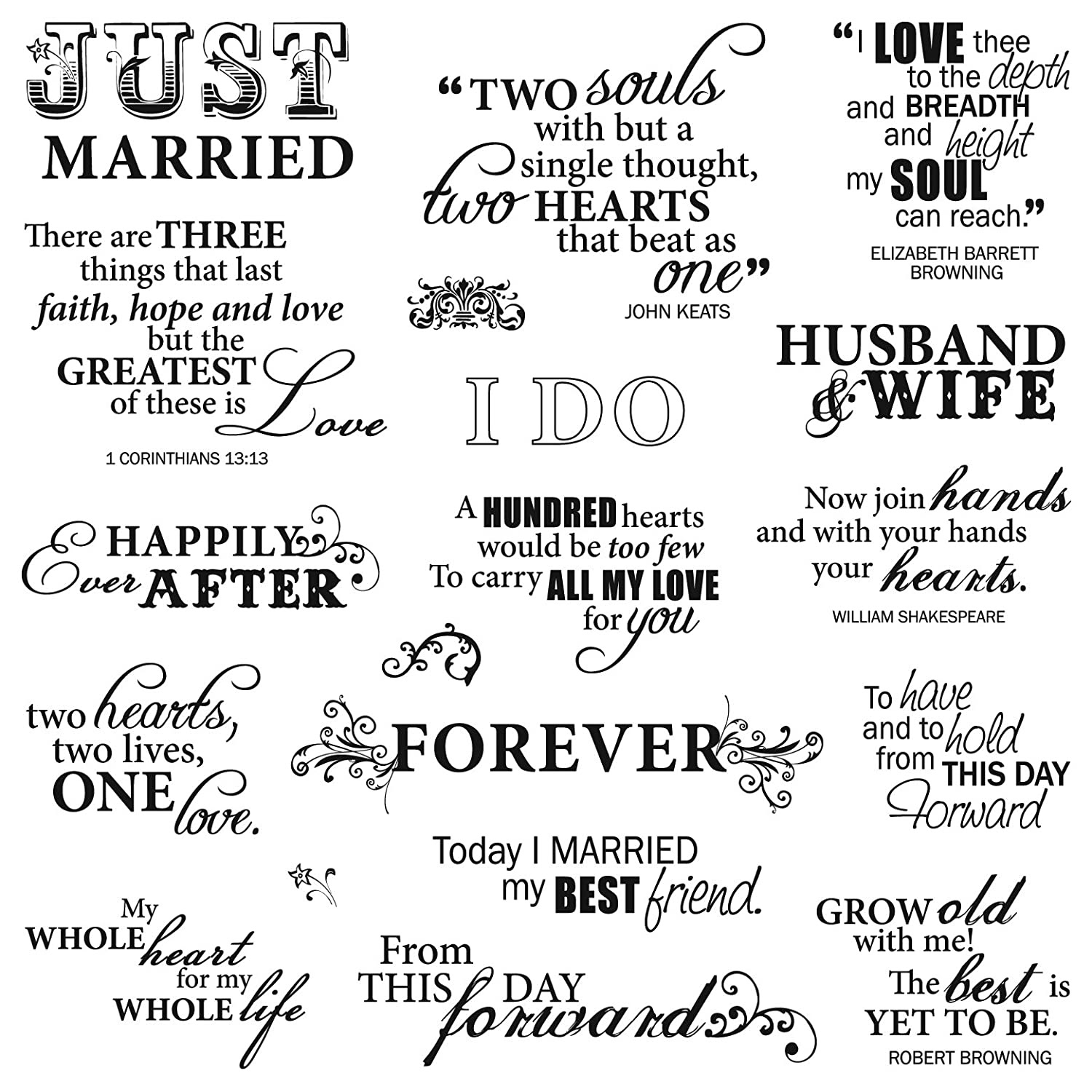 Memorable Wedding: Wedding Quotes Ideas For Finding Just