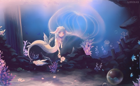 Jellyfish Lake Other Anime Background Wallpapers On Desktop Nexus Image 2079854